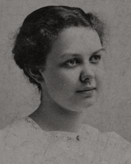 Rose Wilder Lane As A Child